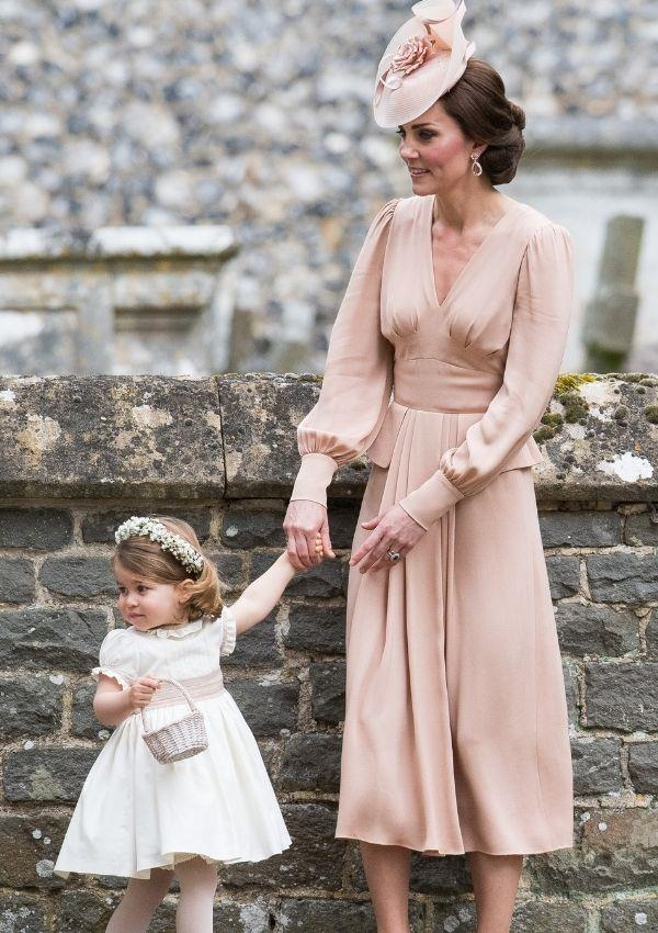 **Kate Middleton and Princess Charlotte attending Pippa Middleton's wedding**  <br><br> Pippa may not be an official royal, but Kate and Charlotte look too gorgeous together to skip.