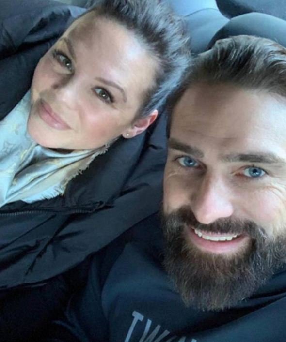 Ant and his wife Emilie.