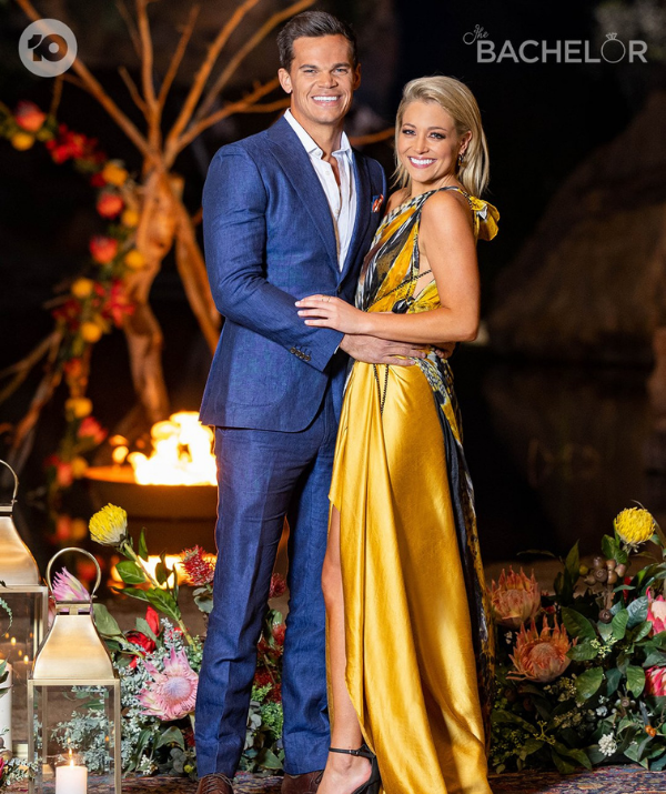 """When the last episode of *The Bachelor* aired, Holly and Jimmy were finally able to declare their love for another.  <br><br> """"I can finally say I believe in the saying 'when you know… you know'. It feels so ridiculously good to share with you all that I've met my soulmate,"""" Holly wrote on Instagram. """"It was a rocky road to get there, but I'd do it ten times over for this guy right here."""" <br><br> """"To my love - thank you for having my back since day one, for seeing through the mindless nonsense, for the endless belly laughs and for loving every part of me. I can't wait to stumble through life with my best friend… even though you have no concept of a morning voice and you crunch in my ear during every phone call."""" <br><br>"""