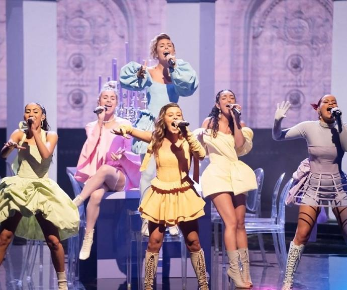 The girls have incredible stage presence and vocals.