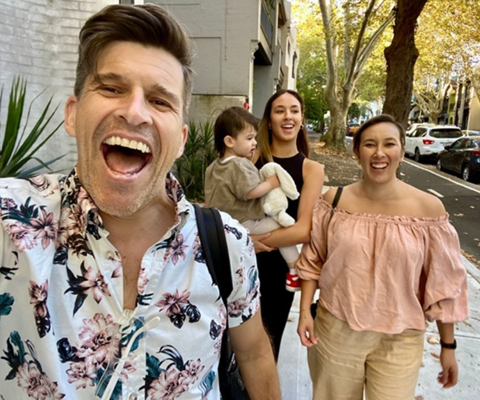 Osher reveals his wife and family saved his life.