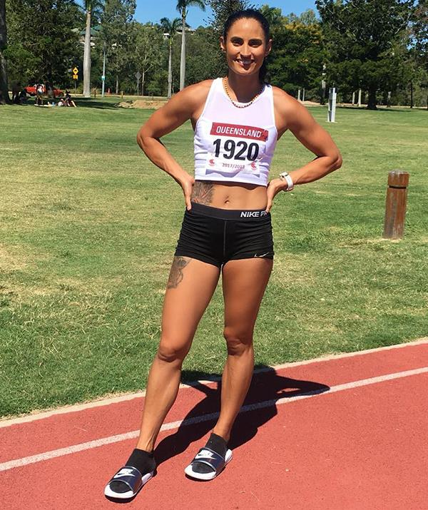 It wasn't until Jess became an adult that she thought about entering athletics professionally.