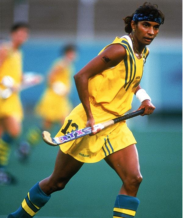 Nova, 50, was the first Indigenous Australian to win a gold medal when she competed as part of the Australian women's hockey team at the 1996 Olympic Games.