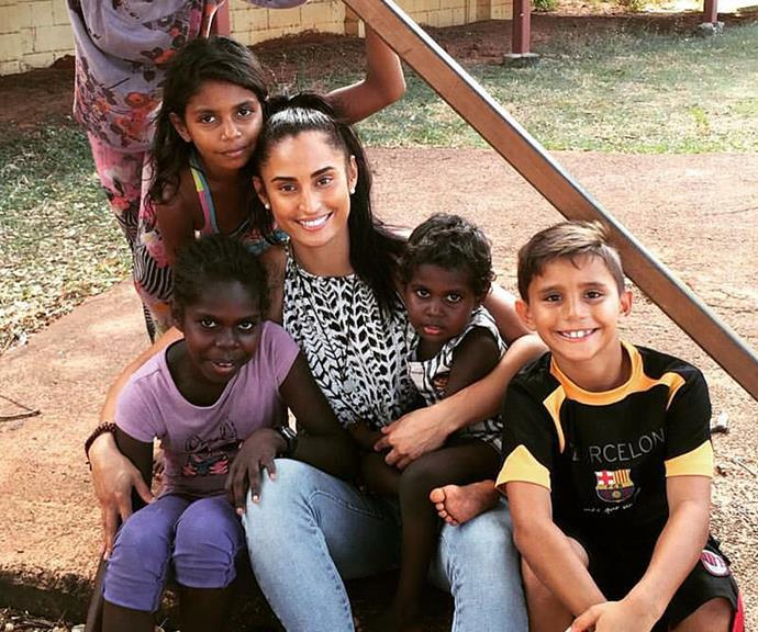 Jess says she's found happiness working at a non-for-profit helping Indigenous communities.