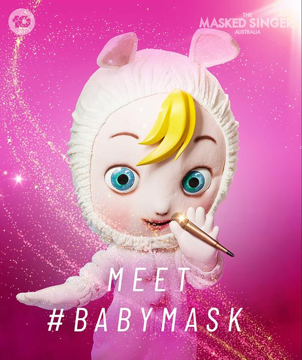 """**[Baby](https://www.nowtolove.com.au/reality-tv/the-masked-singer/who-is-baby-masked-singer-69168 target=""""_blank"""")** <br> **Episode two:** """"I'm Baby and I don't ever want to grow up! I love flowers, I've been around them all my life. I'm a baby, so I'm short but not short for anything in particular! Aren't these animals perfect? Well, I don't like perfection, it makes me go waa! waa! Am I the type to spit the dummy? I am not! That's a nasty web you weave when you do that, and watch out for the spider's bite. <br><br> """"I've been front and centre and I've been on the wings. Front and centre is better. I'm Baby and I'm going to get my way tonight."""" <br><br> **Episode four:** """"Do I believe I can win *The Masked Singer*?  Of course I do! I've crystallised it in my beliefs. And my beliefs are broad. I'm wise beyond my years.  There's nothing school could teach me. And yet the government comes seeking my advice. <br><br> """"I'm a baby, so I'm new. A lot of people appreciate that about me. And when I'm big, there'll be other new babies who need someone. One day, I will have an all-consuming childhood dream. The only thing I want. And it will never happen. I'll be known for something else. I'm Baby – and I'm gonna catch the other *Masked Singers* napping!"""" <br><br> **Episode six:** """"A lot of people look at me.  Thousands and thousands at a time. I wanted it to be lots more but that just didn't play out. Early on, I got used to not being first. I have a distinguished sporting pedigree. Only one of four people to hold this honour. But don't work up a sweat about it. <br><br> """"I like my booties. Do you? I think I'll wear them forever. They are something I just can't live without. Wah-wah. Wah-wah. I really like that sound. And I love the sound of steam. I'm Baby and winning *The Masked Singer* is my birthright!"""""""