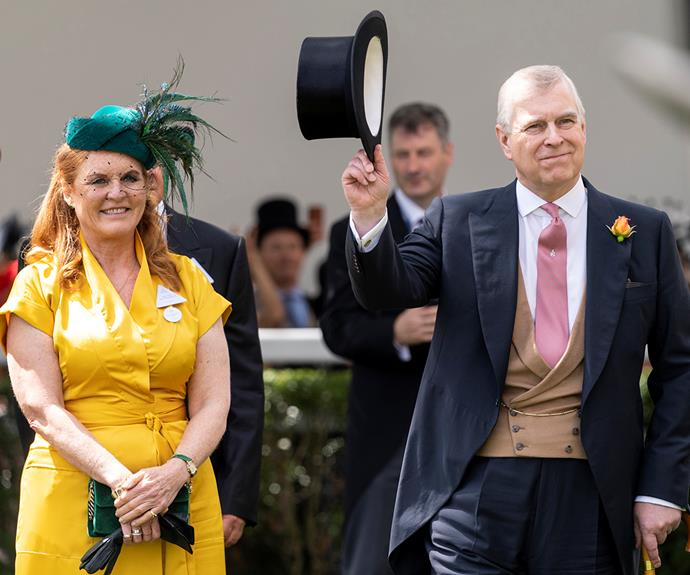 Prince Andrew and Sarah, Duchess of York divorced in 1996 but remained amicable.