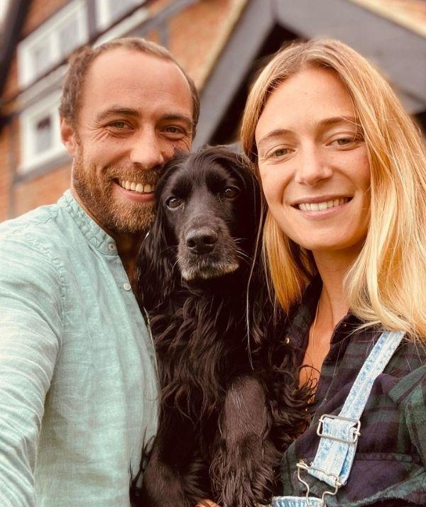 """A month before their wedding, James revealed he and Alizée had brought a house together. <br><br> """"I think buying a house is up there with one of the most stressful experiences in my life 😅🏡🐾,"""" he confessed in his caption. <br><br> """"It's been a hectic few months moving in to our new home & we couldn't be happier. We are settling into our life in the country & the dogs ❤️ their new home."""""""