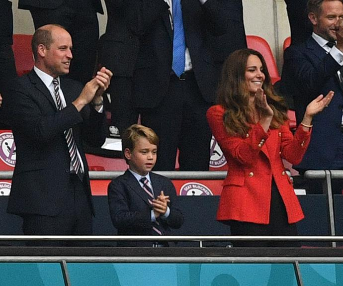 Kate was last seen at a football match in July.
