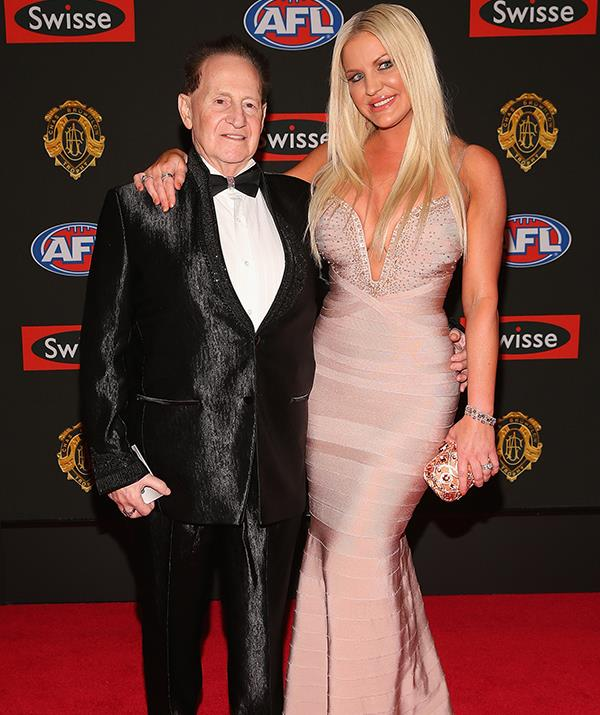 Brynne shot to fame after marrying the late physician-turned-millionaire businessman Geoffrey Edelsten, who was 40 years her senior.