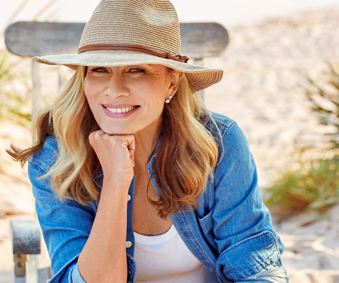 Deborah is urging young Aussies to take sun safety seriously.