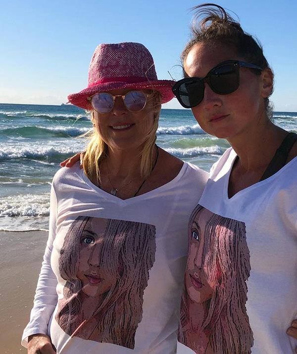 Millie is an eating disorder recovery coach who works at End ED on the Sunshine Coast and shared a close bond with Jaimi before her death. She appears to have stayed close with Jaimi's family since, sharing this touching photo at the beach with Lisa on the anniversary of Jaimi's death. <br><br> In the caption she revealed the photo was snapped as family and friends gathered to spread flowers in the ocean in Jaimi's memory.