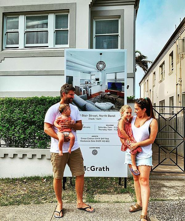 In February last year, the couple sold their North Bondi apartment for $1,225,000.
