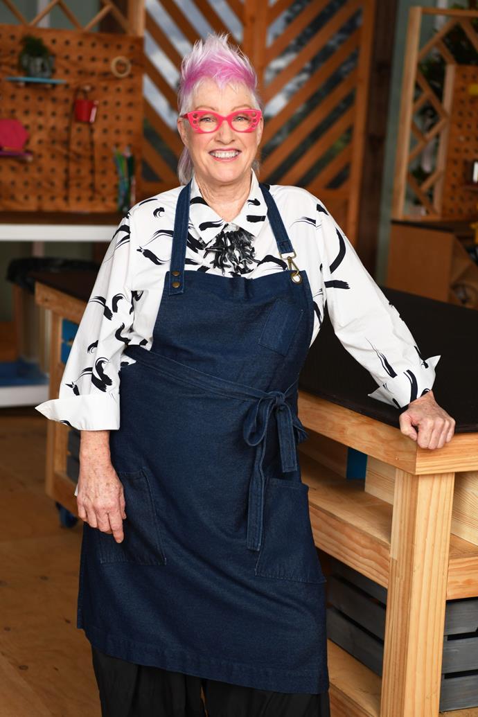 Denise, 61, sculptor, WA
