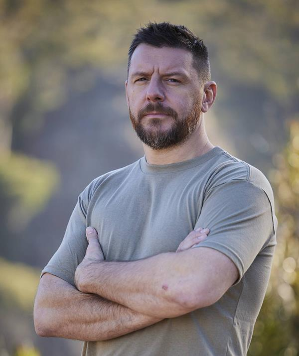 """Celebrity chef Manu Feildel quit suddenly during the third episode after learning the recruits' next challenge would involve being trapped in a car while submerged in freezing cold water. <br><br> DS Ant Middleton had barely finished explaining the tasks to the celebrities when the My Kitchen Rules chef abruptly stood up and handed his number in, signalling he was voluntarily withdrawing from the course. <br><br> """"You haven't even tried it number six,"""" Ant told Manu, but it was too late to change his mind. <br><br> """"I came on this course to prove something to myself, and I just realised I don't need to prove anything,"""" Manu told the camera after voluntarily withdrawing from the competition. <br><br> """"I've got a f**king good life. I've got a f**king good life, and I want it back."""""""