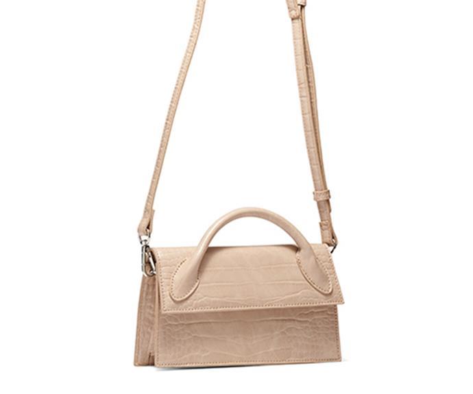 "[Shop the **Artesia Bag** for $59.95 from Novo.](https://fave.co/2XuhgVV target=""_blank"" rel=""nofollow"")"