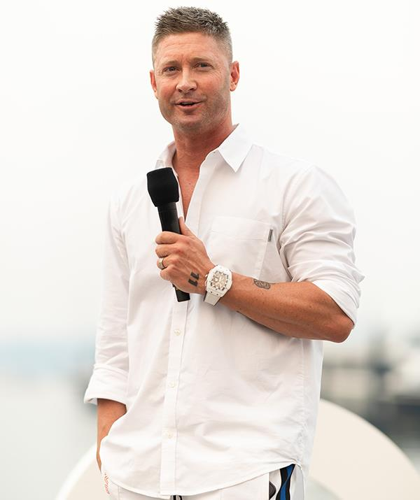 """Cricket legend Michael Clarke reportedly """"put his hand up"""" and is """"locked in"""" to star on season three."""