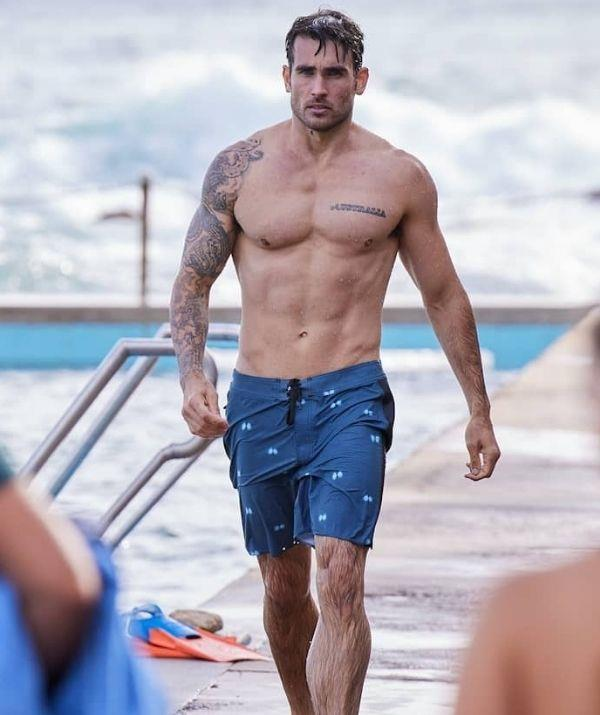 **Nicholas Cartwright** <br><br> *Home and Away* aren't afraid to show off some abs from time to time so we're always grateful when Nicholas' character, policeman Constable Cash Newman, comes on screen.