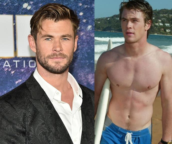 **Chris Hemsworth** <br><br> Speaking of the gods! Thor, aka Chris, started his lucrative career on Summer Bay before the Americans got their hands on him.  <br><br> The handsome Aussie export played Kim Hyde on the soap from 2004 to 2007.