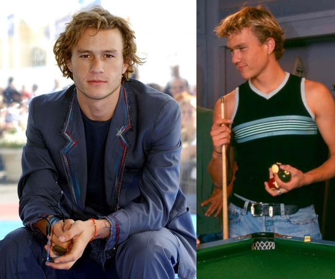 **Heath Ledger** <br><br> Heath's appearance on *Home and Away* in 1997 as Scott Irwin may have been brief, but as always, the actor captivated audiences effortlessly.