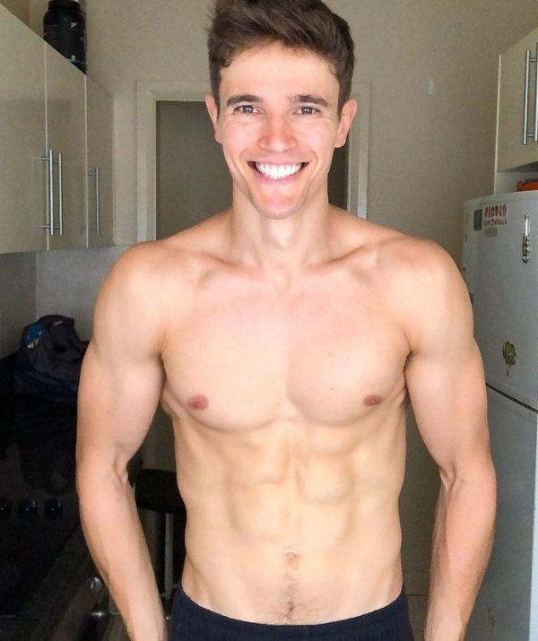 **Nic Westaway** <br><br> Again, ab shots are welcome here! The sweet (and clearly jacked) Nic played Kyle Braxton on from 2012 to 2016.
