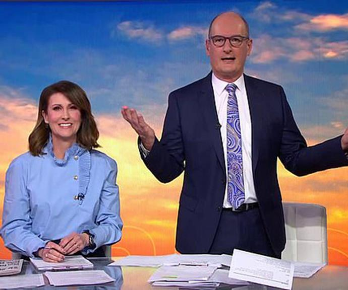 The news is surely a blow for *Sunrise* hosts David Koch and Natalie Barr, who have constantly defeated Today in ratings since 2018.