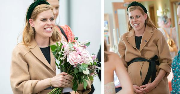 Pregnant Princess Beatrice just showcased her beautiful baby bump with the most genius styling trick