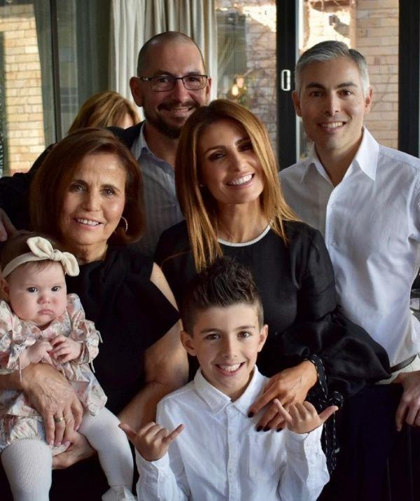 Ada and her family got together to celebrate Jenny's milestone birthday in 2021.