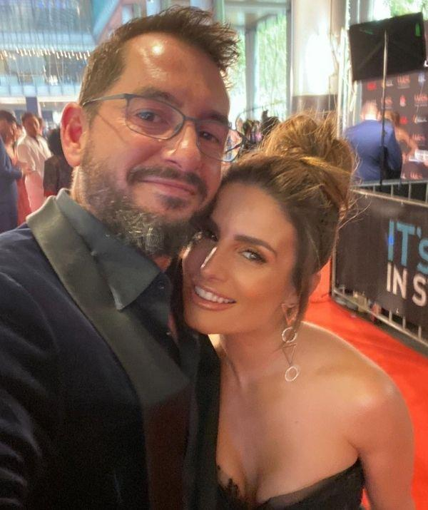 """The *Home and Away* actress debuted her relationship with Adam in 2018 at the *TV Week Logie Awards.*  <br><br> In an interview with *TV Week,* Ada gushed about her partner's close relationship with Johnas. <br><br> """"Adam and Johnas adore each other; he's such a great stepdad and has really stepped up,"""" she explains. """"For a man to come into my world and love a child as if he were his own – and love me like I've never been loved before – is incredibly special."""""""