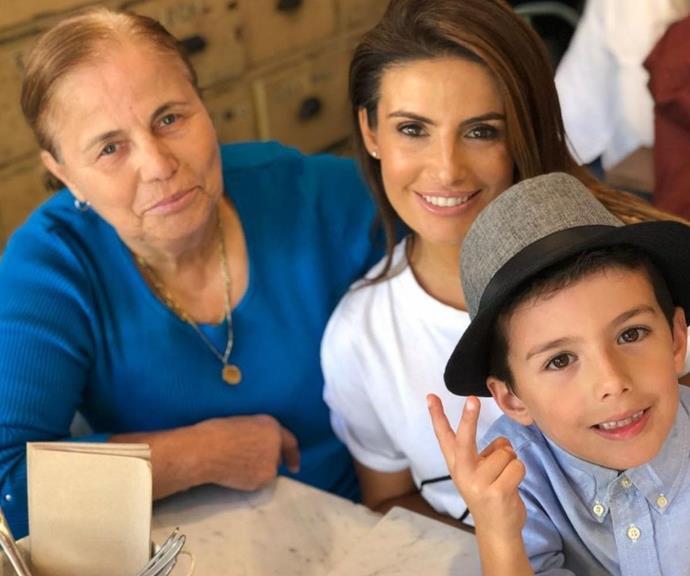 Three generations of Nicodemous!