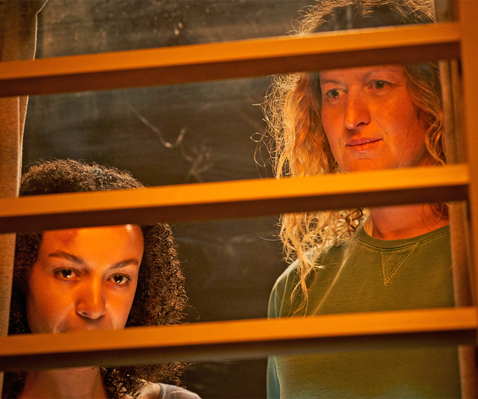 Two of *Wentworth*'s most dangerous prisoners – and most unlikely allies – Lou Kelly and Judy Bryant, are making secret plans in *Wentworth* this week.