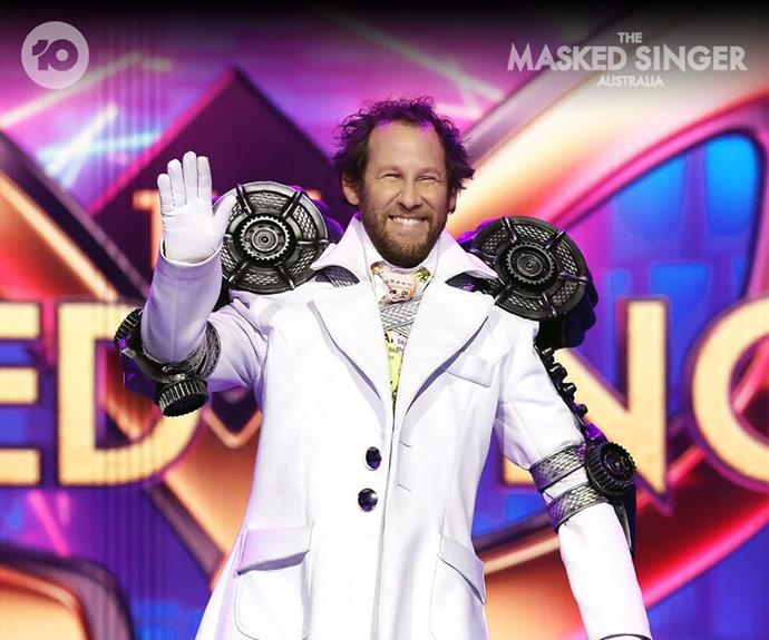 """**Professor: Ben Lee** <br><br> After belting out Seal's *Kiss From A Rose,* the judges guessed Simon Baker, Zac Hanson, Jimmy Rees or even (and this is a wild card) David Attenborough was behind the Professor mask - but none of them got it right!  <br><br> When he finally removed his mask it was none other than *Catch My Disease* hitmaker Ben Lee. """"I like to try things that make me feel weird,"""" he wrote on Instagram of his gig on the show."""
