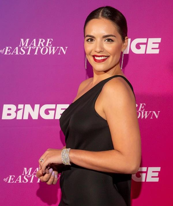**Olympia Valance** <br><br> Actress Olympia Valance will be putting her best foot forward this season, after first appearing on the dance floor for season 16 in 2019.