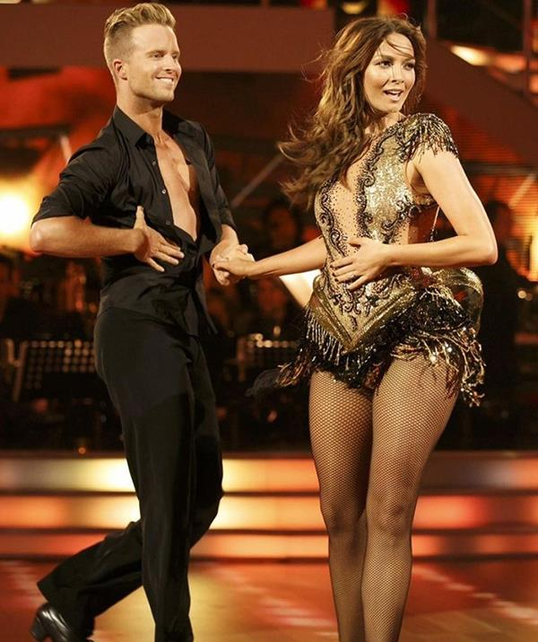 """**Ricki-Lee Coulter** <br><br> Singer-songwriter Ricki-Lee showed what she was made of back on season 14 in 2014, and now she's ready to do it all over again. <br><br> """"I'm coming for that mirror ball 🏆 After coming 7th on Idol & 3rd on DWTS in 2014…I'm hoping this upward trend continues & I can actually win something for once in my life 🤣🤣🤣 Let's go get this @jarrydbyrne,"""" she said on Instagram. <br><br> The Aussie singer said she is """"excited to get out of the house"""" after spending most of the past 18 months at home due to the COVID-19 pandemic.  <br><br> """"I feel like I've been a sloth on the couch for a couple of years throughout lockdown, so it's nice, I'm excited!"""" she said."""