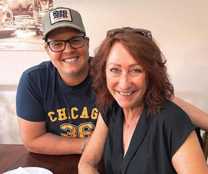 Johnny and Tahnee have also found comfort in the friendship of *Home and Away* star Lynne McGranger, who has remained very close with her former on-screen pal even after his stint in Summer Bay.