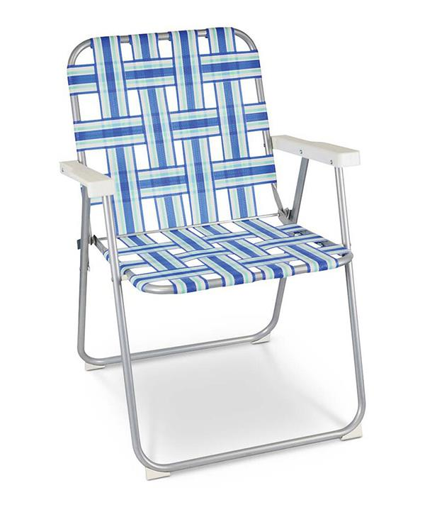 """[Shop the **Wanderer Retro Stripe Camp Chair** here on sale for $24.99.](https://fave.co/3hOJEsO