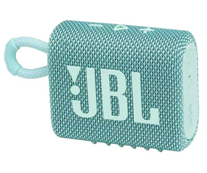 """[Shop the **JBL Go 3 Portable Waterproof Speaker** here for $59.95.](https://fave.co/3CuaVZy