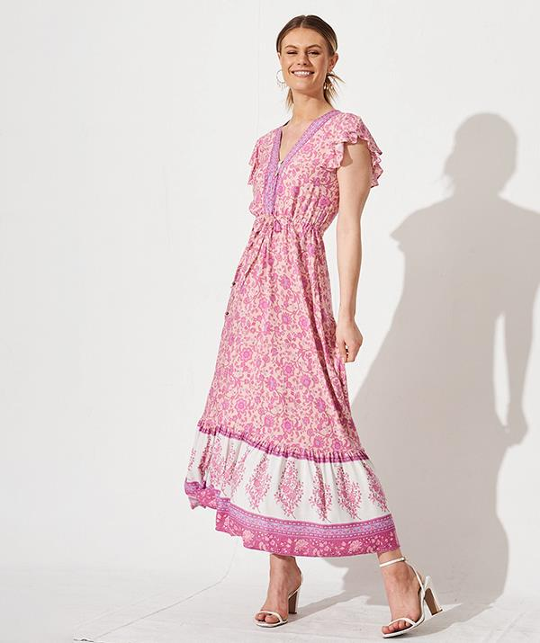 "[Shop the **Vanser Maxi Dress** here for $89.90.](https://fave.co/3zpLJBp target=""_blank"" rel=""nofollow"")"