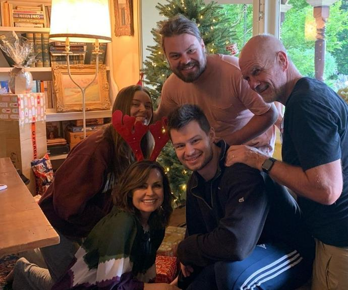 Christmas with the Wilkinson-FitzSimons looks so wholesome!