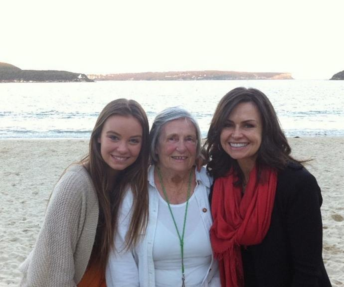"""Lisa shared this picture of three generations of Wilkinson women. She wrote, """"Three women, three generations, three very different life experiences...and yet so many themes still the same."""""""