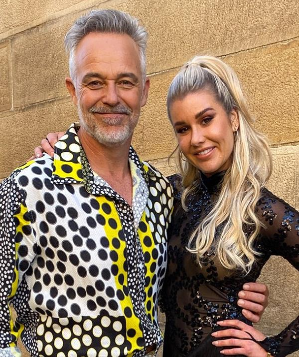 Cameron Daddo has shared a sweet tribute to his *Dancing With The Stars* partner Megan Wragg ahead of his debut on the 2022 All Stars season.