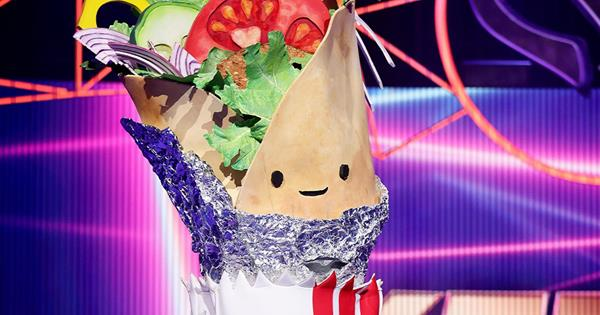 Who is Kebab on The Masked Singer Australia? The answer might be 'saucy'