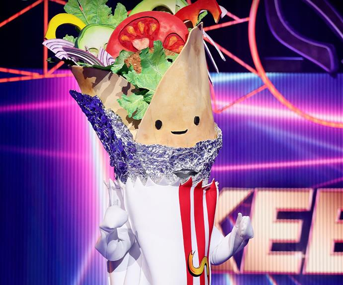 Who is hiding under the Kebab mask?