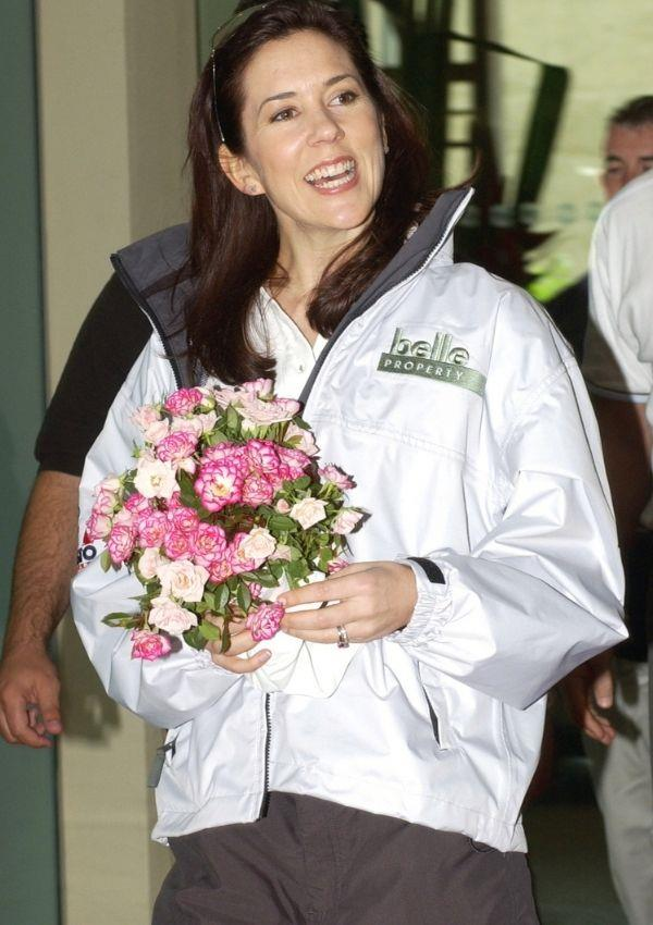 Crown Princess Mary also rocked a similar style during her two-week visit to Australia in 2005.