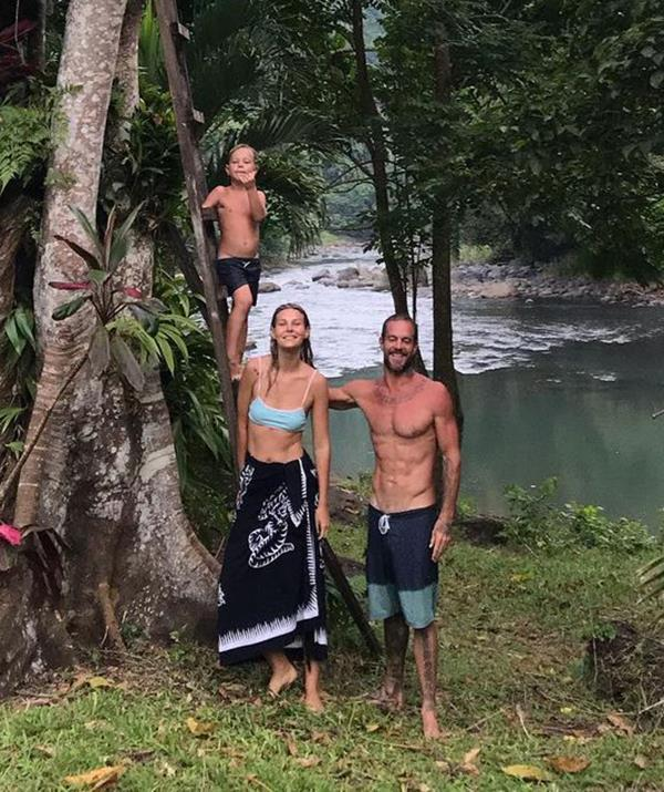 Koby is a resident of Bali, where he lives with his fiancée, Olya Nechiporenko, and their young son, Makua.