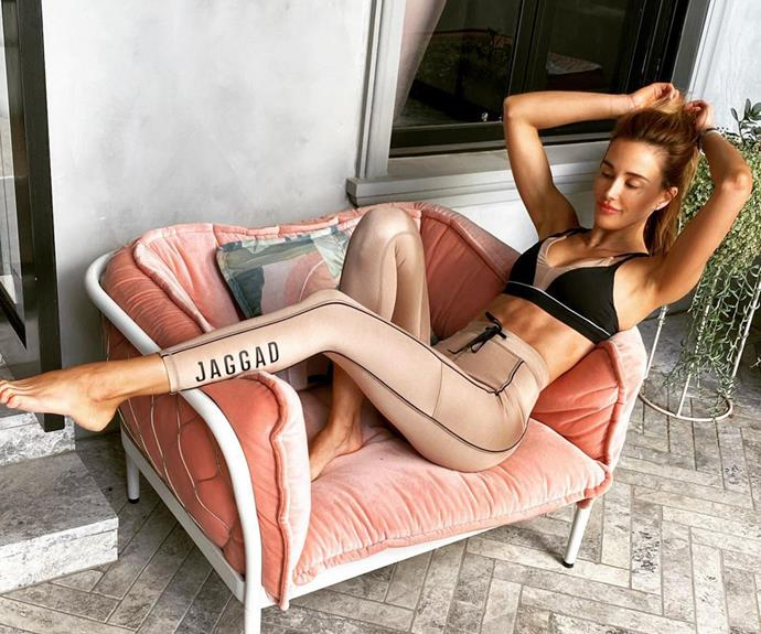 Bec Judd manages to make lockdown style look chic!