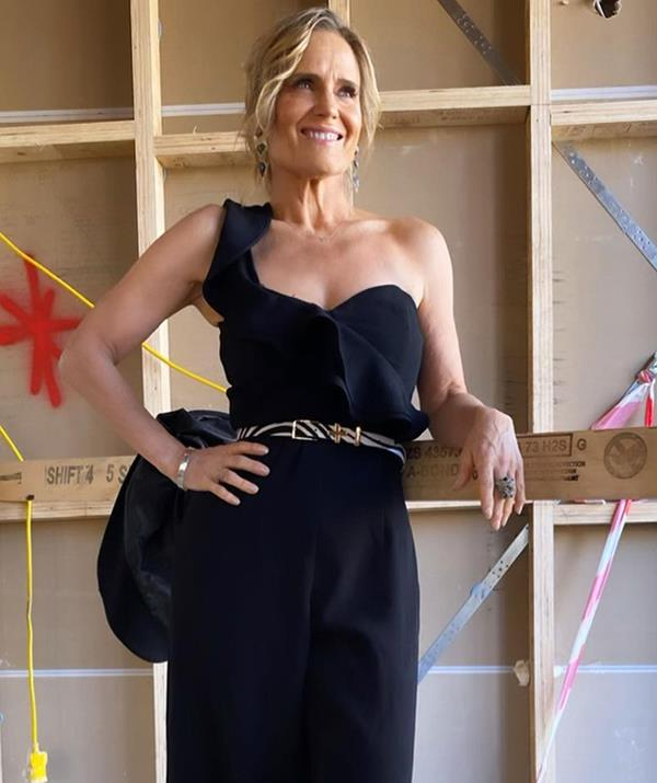 """Always down to support Aussie homegrown labels, [Shaynna wowed](https://www.newidea.com.au/shaynna-blaze-single