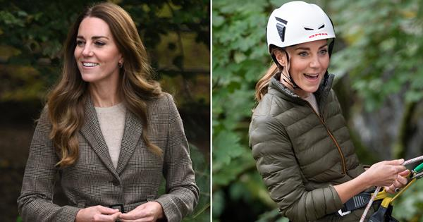 Casual chic! Duchess Catherine's clever wardrobe change between events