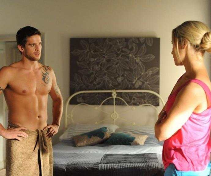 He may have played a tough River Boy during his stint as Heath Braxton on *Home and Away*, but behind the scenes actor Dan Ewing was battling mental health issues.