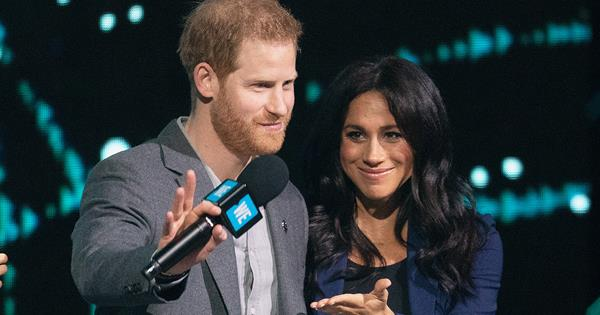 Prince Harry and Meghan Markle make their first public appearance since Lilibet's birth
