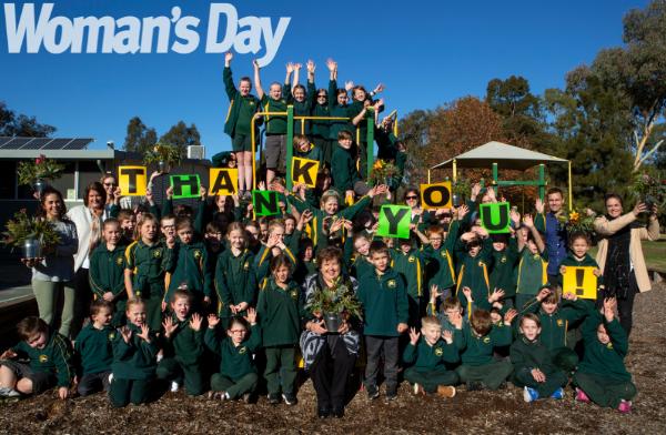 "The kids of Kialla were thrilled to thank the ""best teachers in Australia""."